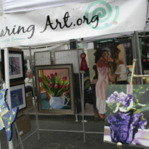Women Sharing Art, Inc Take First and Second Place Awards at Sayville's Summerfest Art Show On Main Street