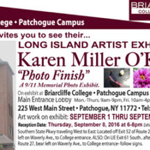 "Karen Miller-O'Keefe Exhibition at Briarcliffe College: ""Photo Finish"""