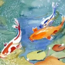 Watercolor Classes at Bayard Cutting Arboretum