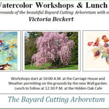 Watercolor Workshops & Lunch