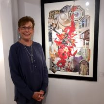 Sheri Berman-First Place in Collage Show at East End Arts Council