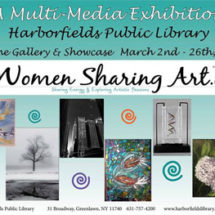 Women Sharing Art Multi-Media Exhibition at Harborfields Public Library