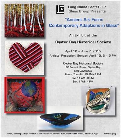 "Long Island Craft Guild Presents Julianna Kirk's ""Ancient"