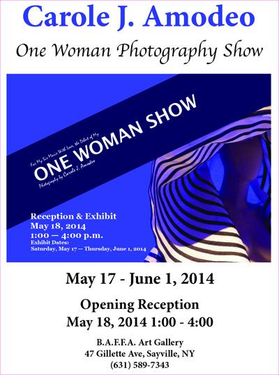 One Woman Photography Show at BAFFA Gallery   Women Sharing Art, Inc
