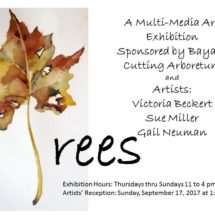 Trees – Exhibit by Victoria Beckert, Sue Miller & Gail Neuman