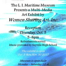 Women Sharing Art, Inc. at Long Island Maritime Museum, West Sayville