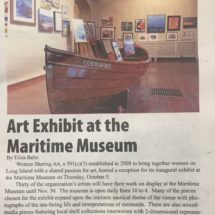 Art Exhibit at the Maritime Museum-West Sayville