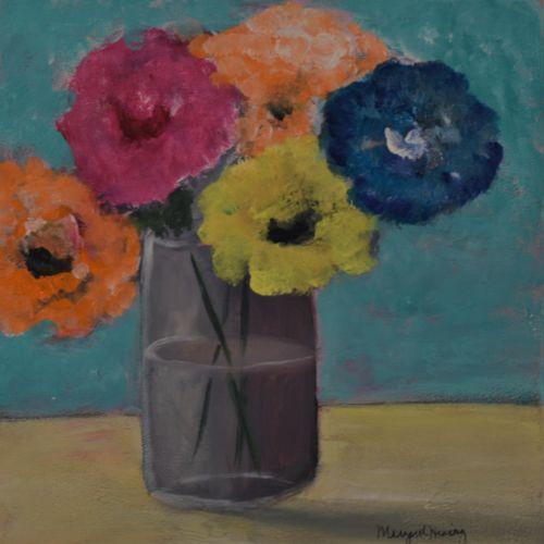 Vase of Flowers 8X8 Acrylic